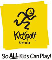 Logo for Kidsport Ontario
