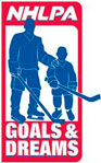 Logo for NHLPA Goals and Dreams Fund