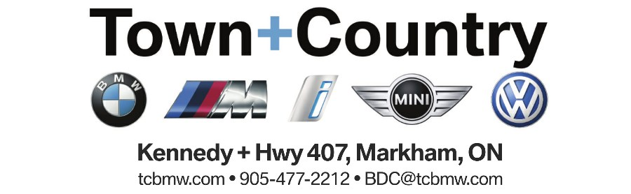 Team Sponsor - Town+Country BMW