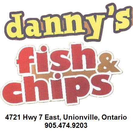 Team Sponsor - Danny's Fish & Chips
